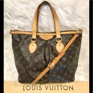 Authentic Louis Vuitton Palermo PM Bag #4.9N